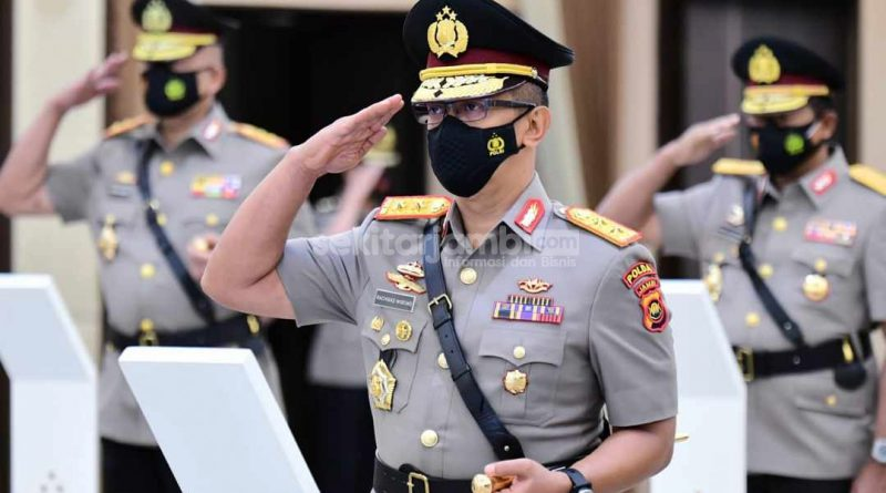 Kapolda Jambi, Irjen Pol A Rachmad Wibowo: Sukseskan Pilkada Serentak 2020 dan Tegakkan Prokes