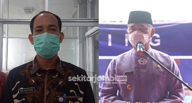 Terkonfirmasi dan Sebagai Penyintas Covid-19, Dirut RSUD Raden Mattaher Jambi dan Wali Kota Fasha Gagal Divaksin