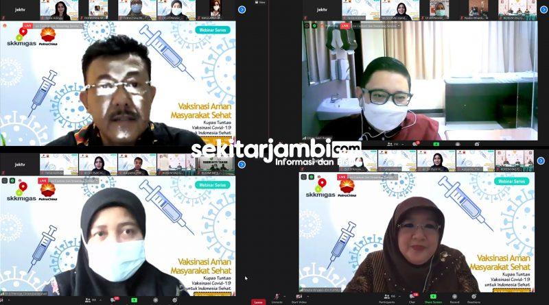 "SKK Migas – PetroChina Sukses Gelar Webinar ""Vaksinasi Aman Masyarakat Sehat"""