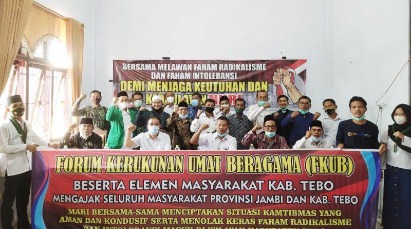 Masyarakat Tebo Tolak Paham Radikalisme dan Kelompok Intoleran