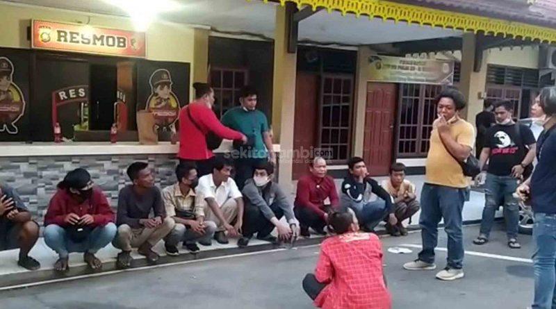 114 Preman dan Pelaku Pungli Diamankan Polisi