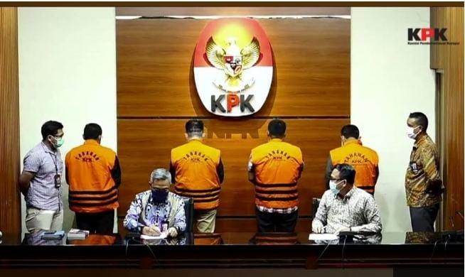 Ditetapkan Sebagai Tersangka, Empat Anggota DPRD Provinsi Jambi 2014-2019 Ditahan KPK