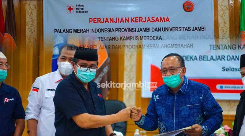 Sukseskan Program MBKM, Universitas Jambi Jalin Kerja Sama Dengan PMI