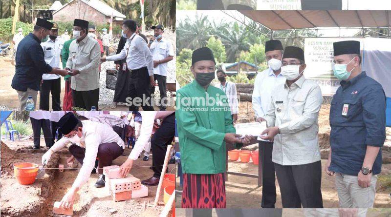 SKK Migas – PetroChina Beri Bantuan Pembangunan Mushola Al Alif di Desa Purwodadi