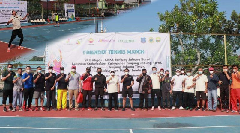 Pererat Silaturahmi bersama Pemerintah Daerah, PetroChina Dukung Gelaran Pertandingan Tenis Persahabatan